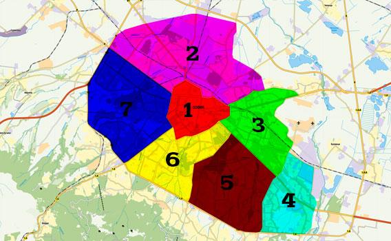 Териториално райониране