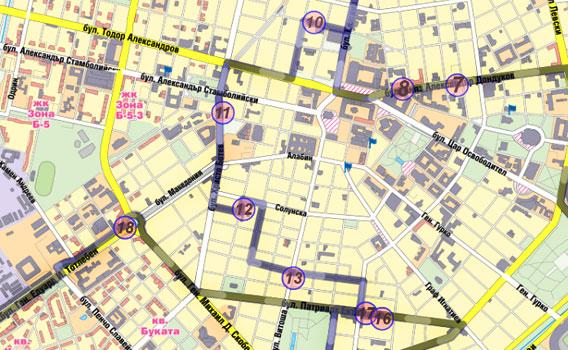 Куриерски услуги планиране на маршрут